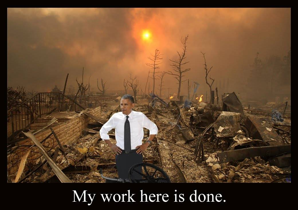 Obama s destruction of America